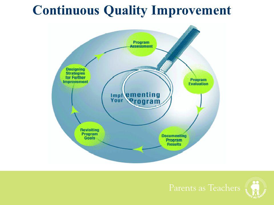 Parents as Teachers Continuous Quality Improvement
