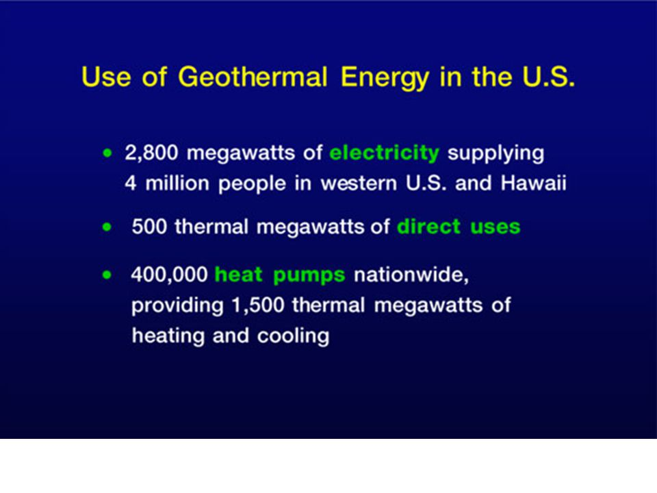 The entire U.S.(and most other areas of the world) are suitable for geothermal heat pumps.