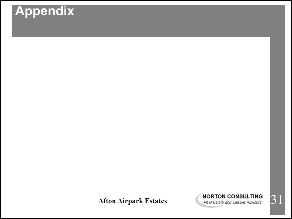 Afton Airpark Estates APPENDIX Appendix 31