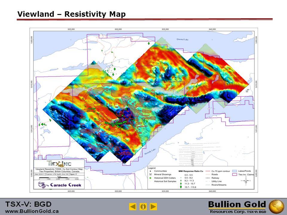 Viewland – Resistivity Map
