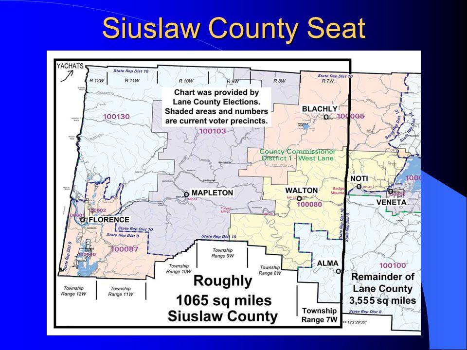 Siuslaw County Seat