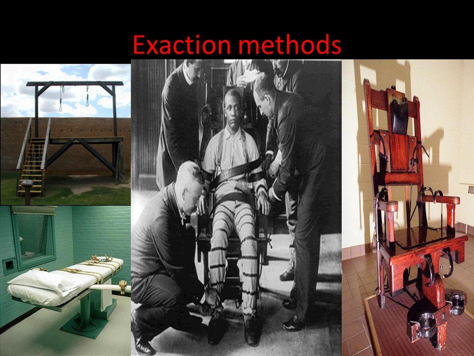 Exaction methods