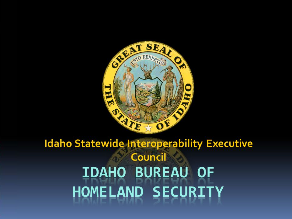 Idaho Statewide Interoperability Executive Council