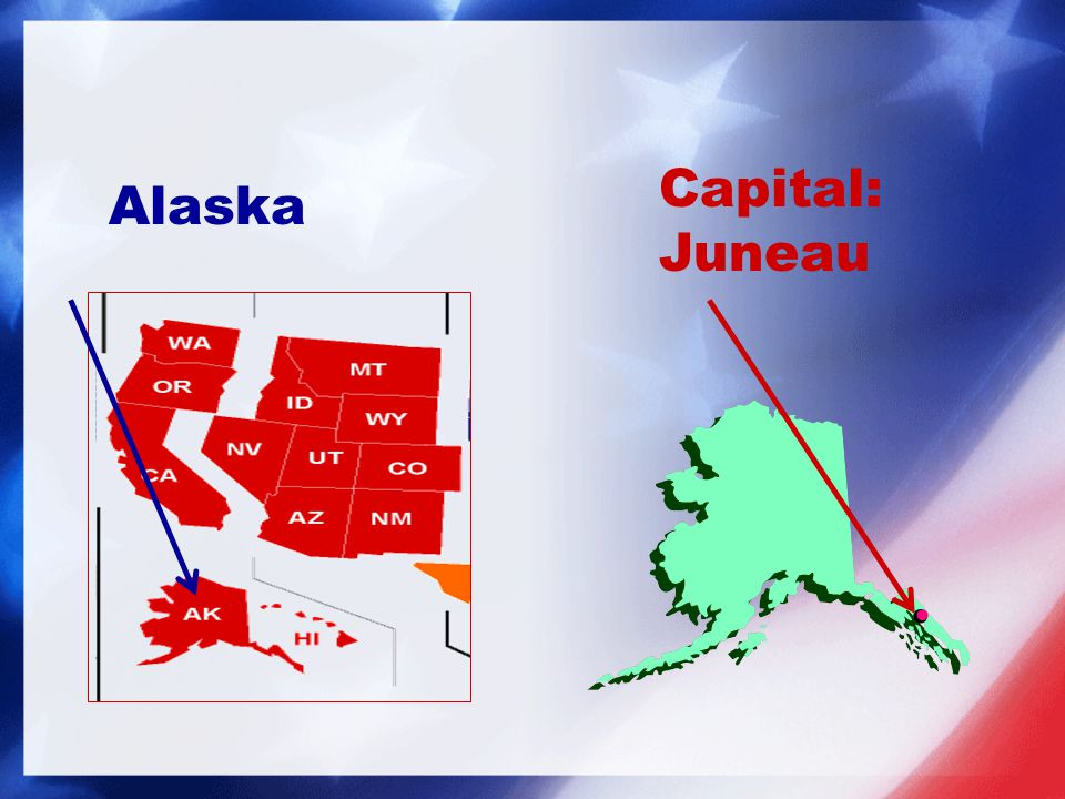 Capital: Juneau Alaska