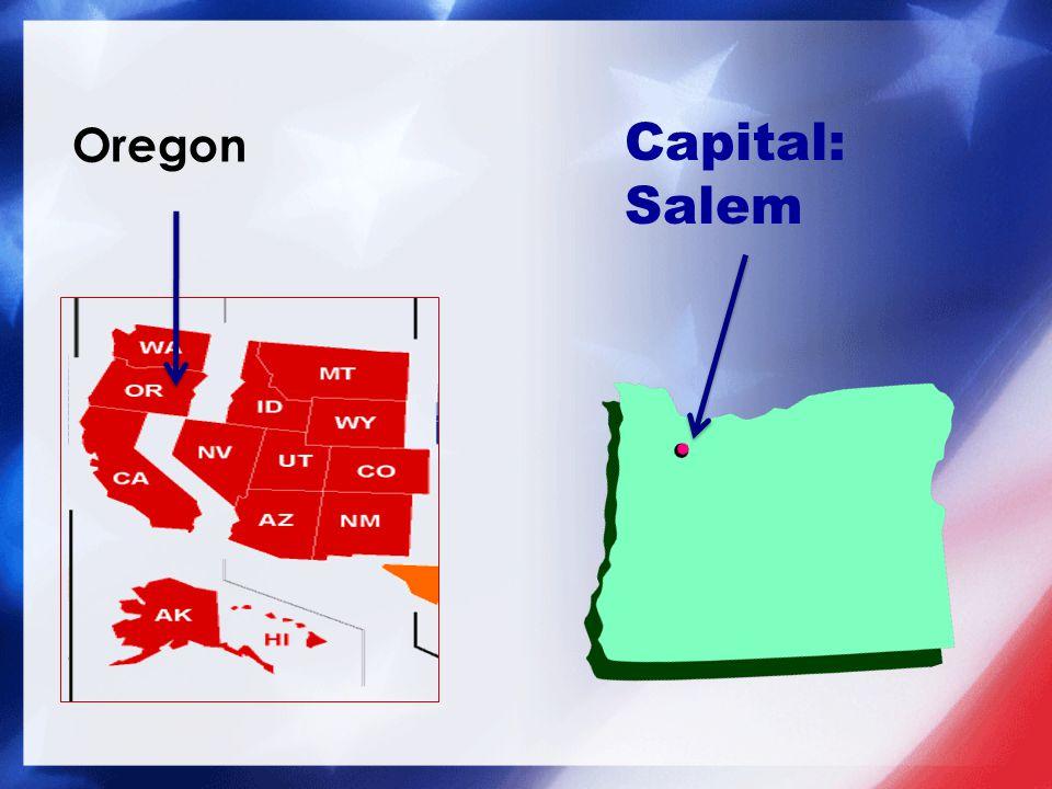 Capital: Salem