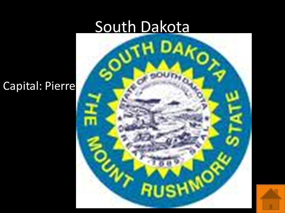 South Dakota Capital: Pierre