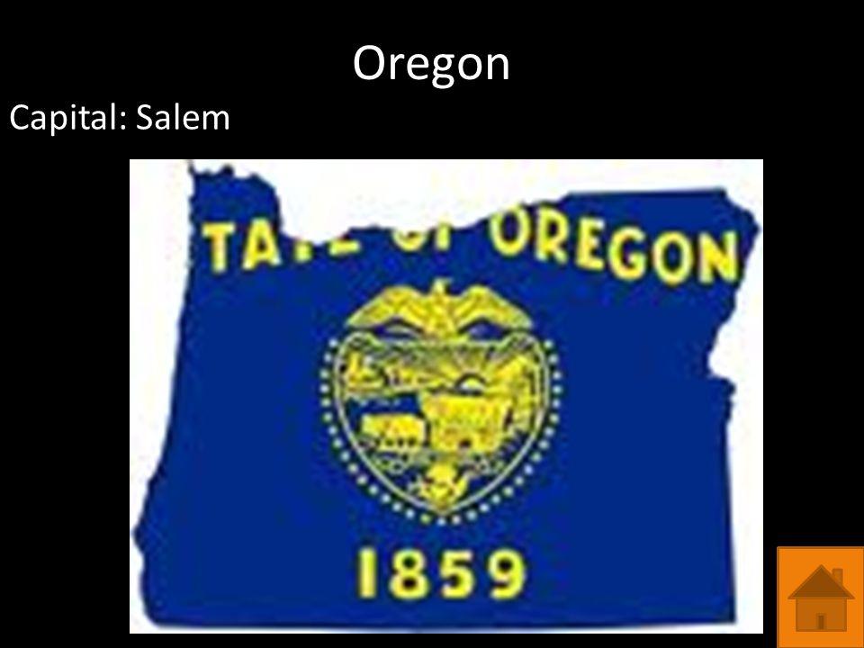 Oregon Capital: Salem