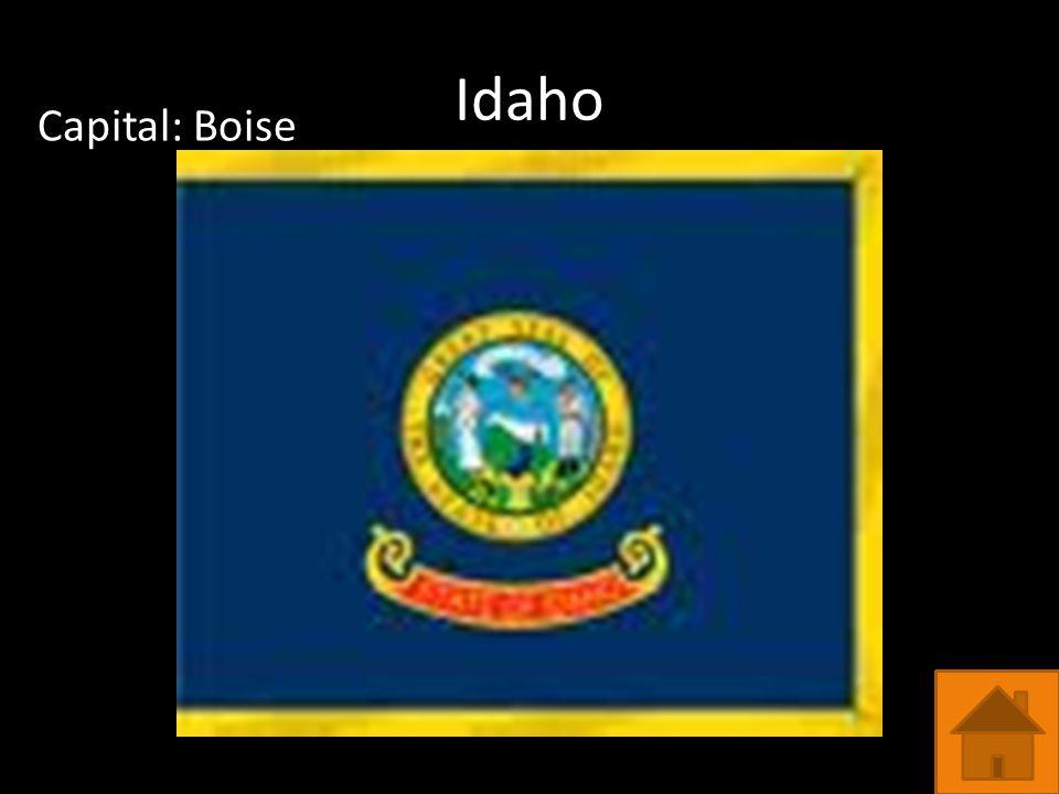 Idaho Capital: Boise