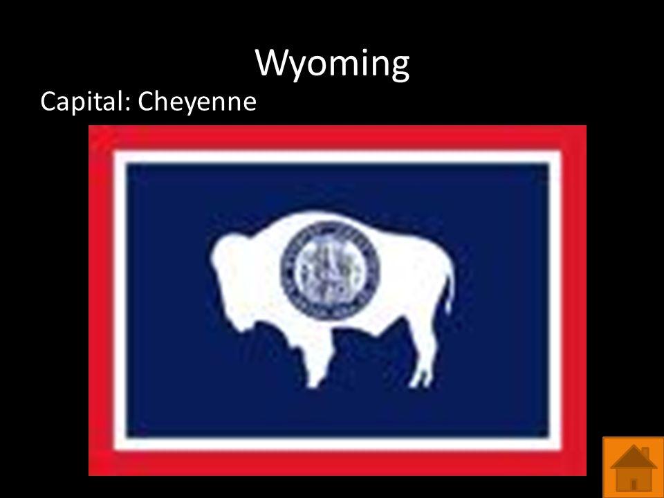 Wyoming Capital: Cheyenne