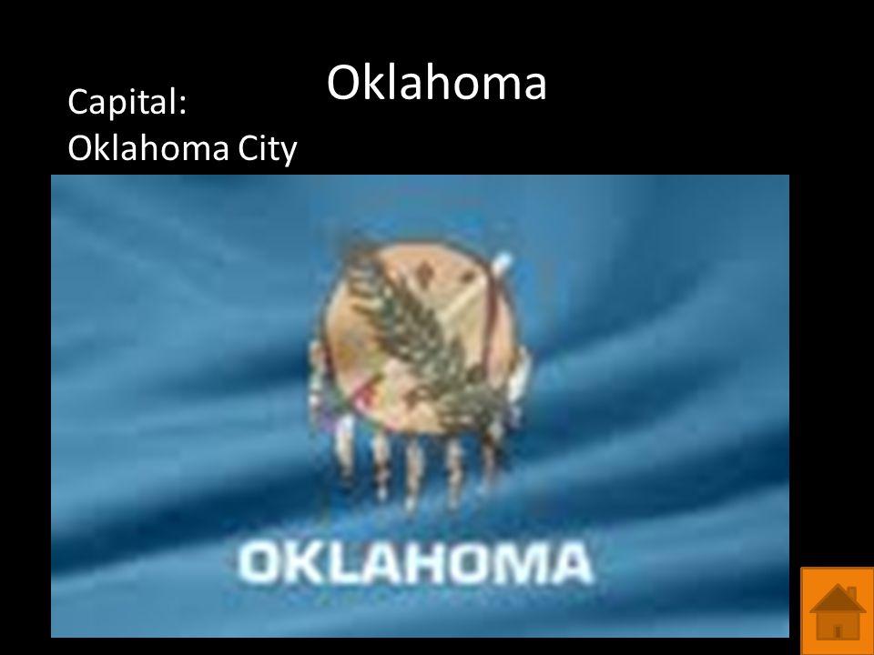 Oklahoma Capital: Oklahoma City