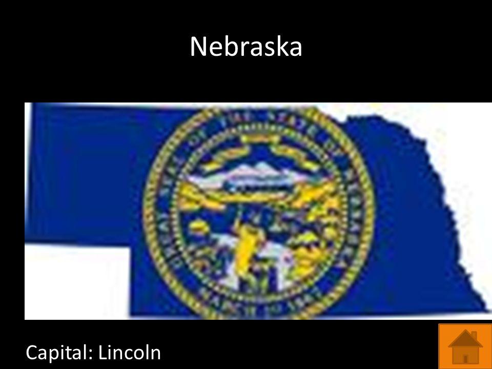 Nebraska Capital: Lincoln