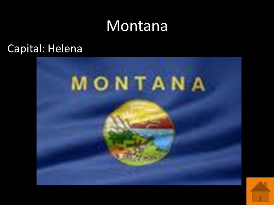 Montana Capital: Helena