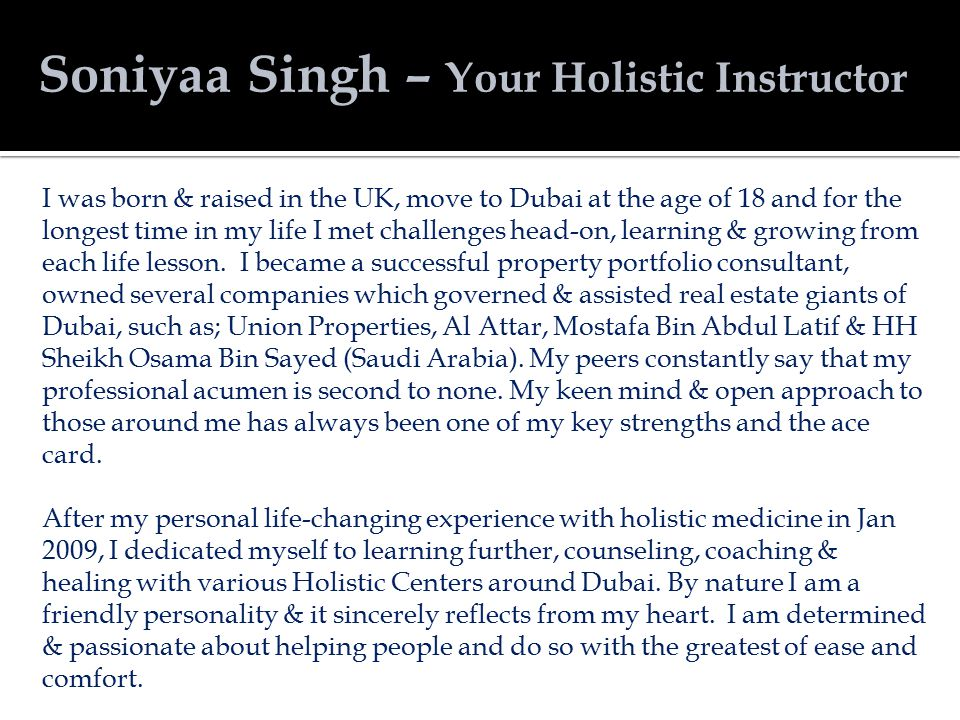 I was born & raised in the UK, move to Dubai at the age of 18 and for the longest time in my life I met challenges head-on, learning & growing from each life lesson.