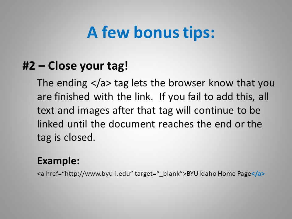 Now YOU can make External Links like a PRO!