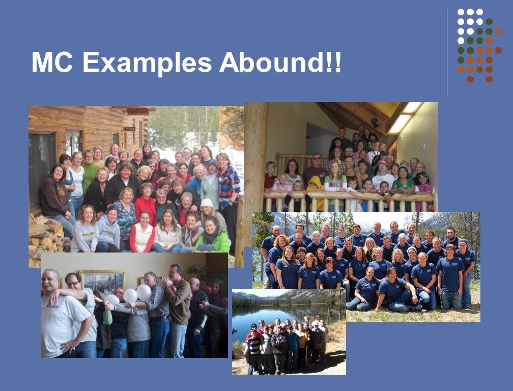 MC Examples Abound!!