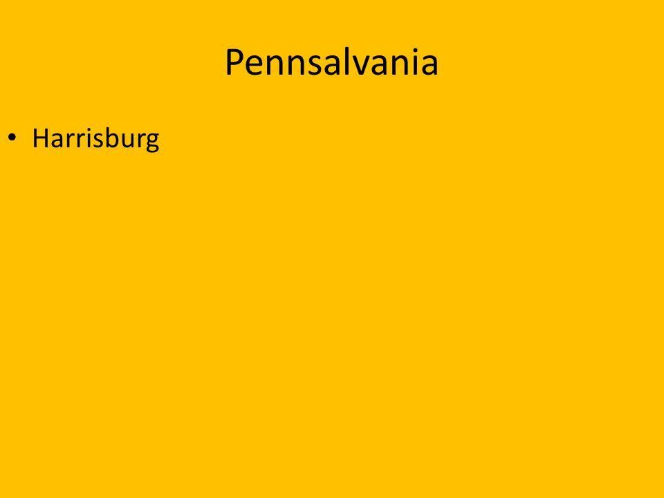 Pennsalvania Harrisburg