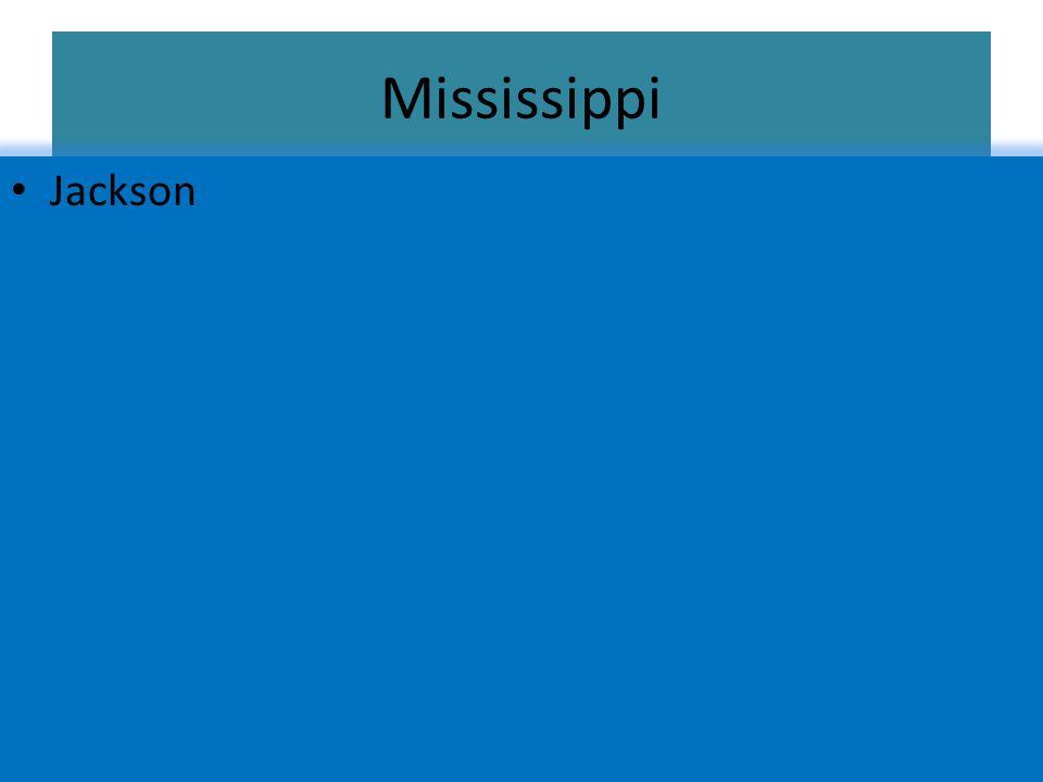 Mississippi Jackson