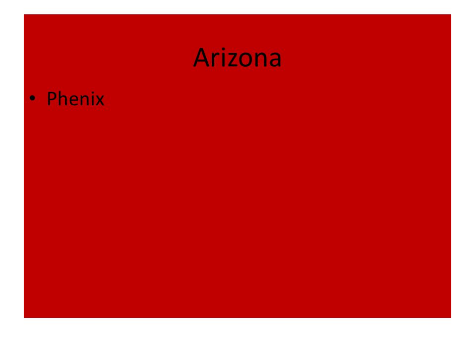 Arizona Phenix