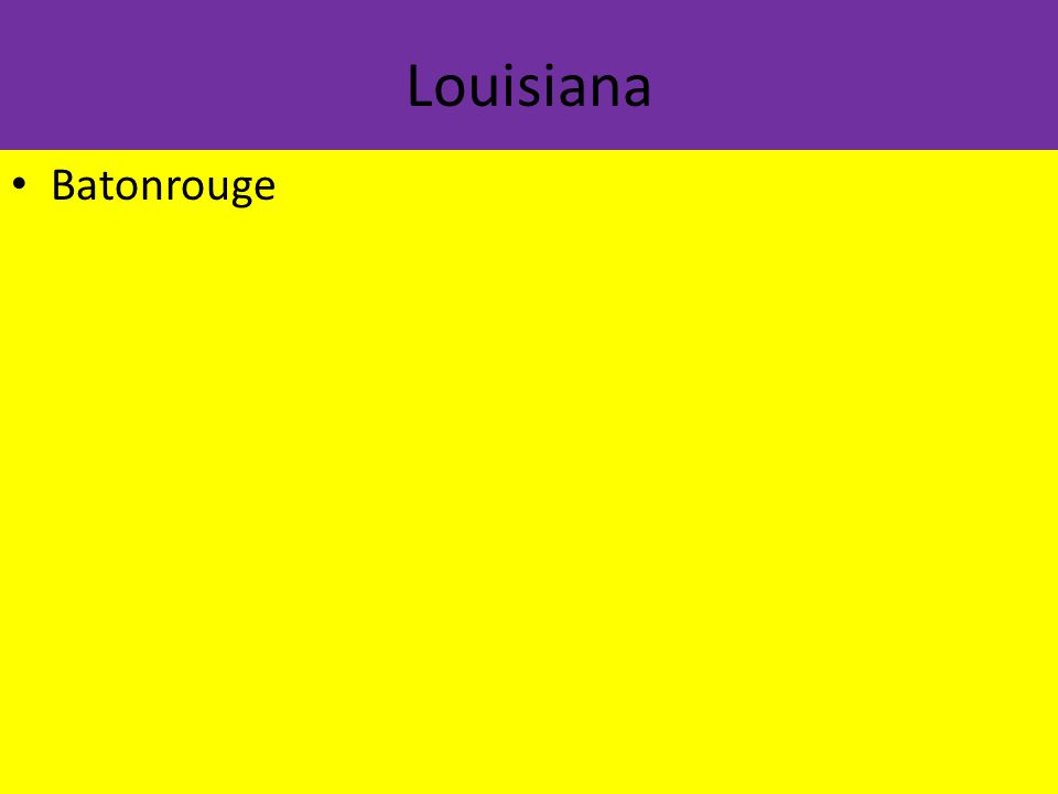 Louisiana Batonrouge