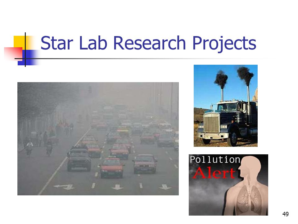 49 Star Lab Research Projects