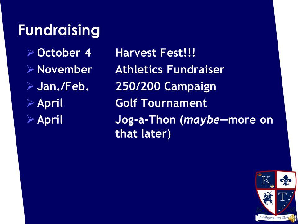 Fundraising  October 4Harvest Fest!!.
