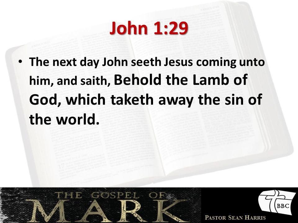 P ASTOR S EAN H ARRIS Look @ Acts 11:13-18