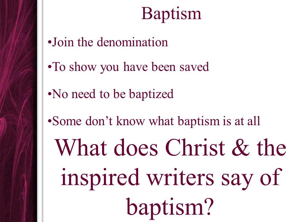 Baptism Saves Mk.