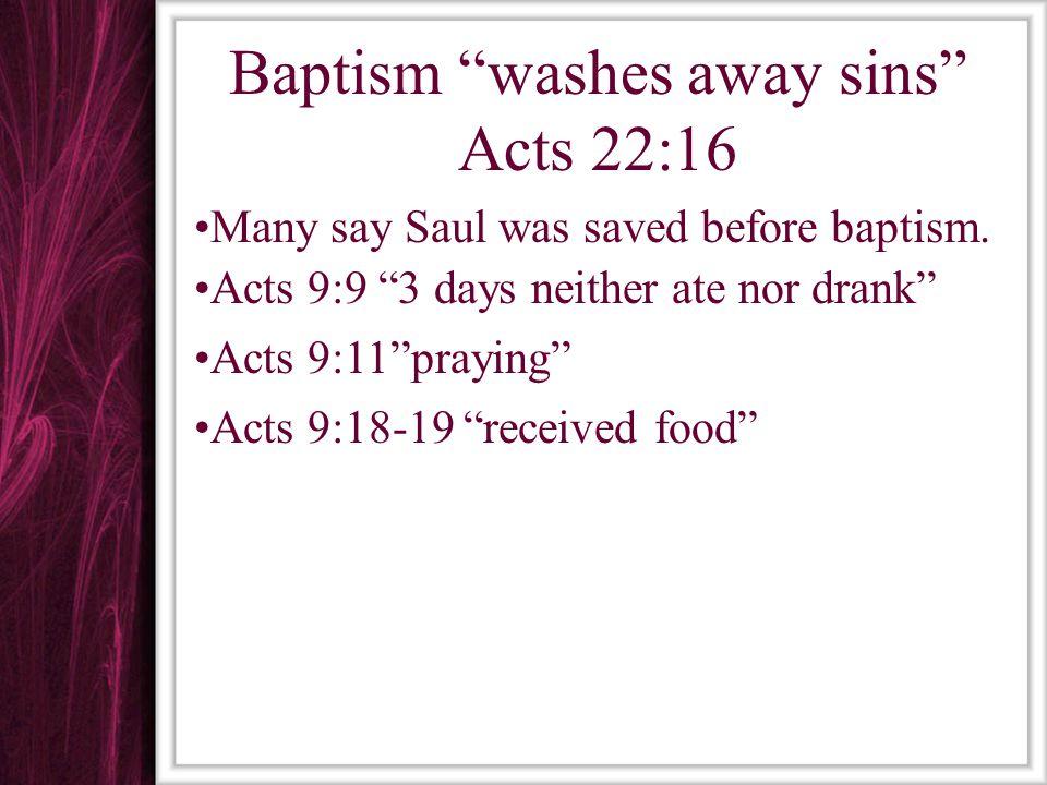 Baptism is a Commandment Matt.28:18-20 Acts 10:47-48 Baptism puts one into Christ & His Death Rom.
