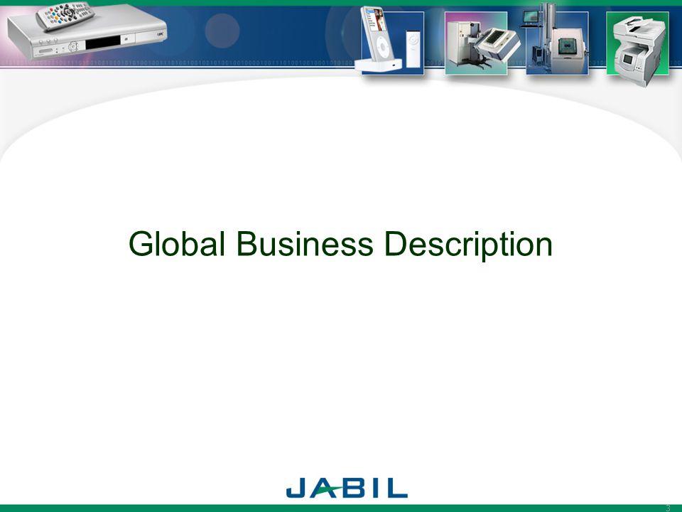 3 Global Business Description