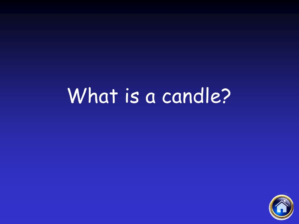 What is a candle?