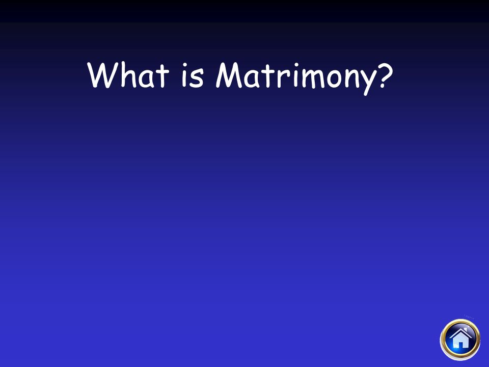 What is Matrimony?