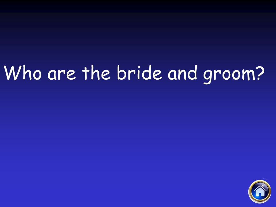 Who are the bride and groom?