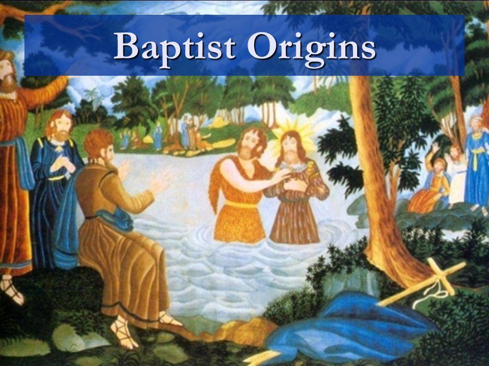 Baptist Origins