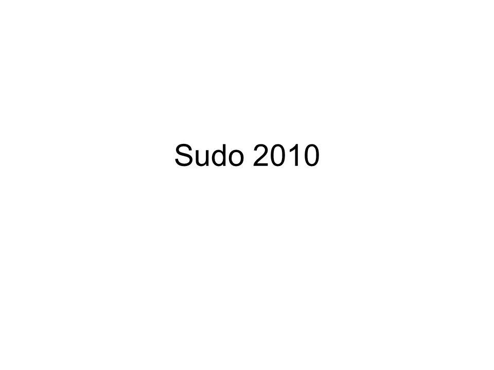 Sudo 2010