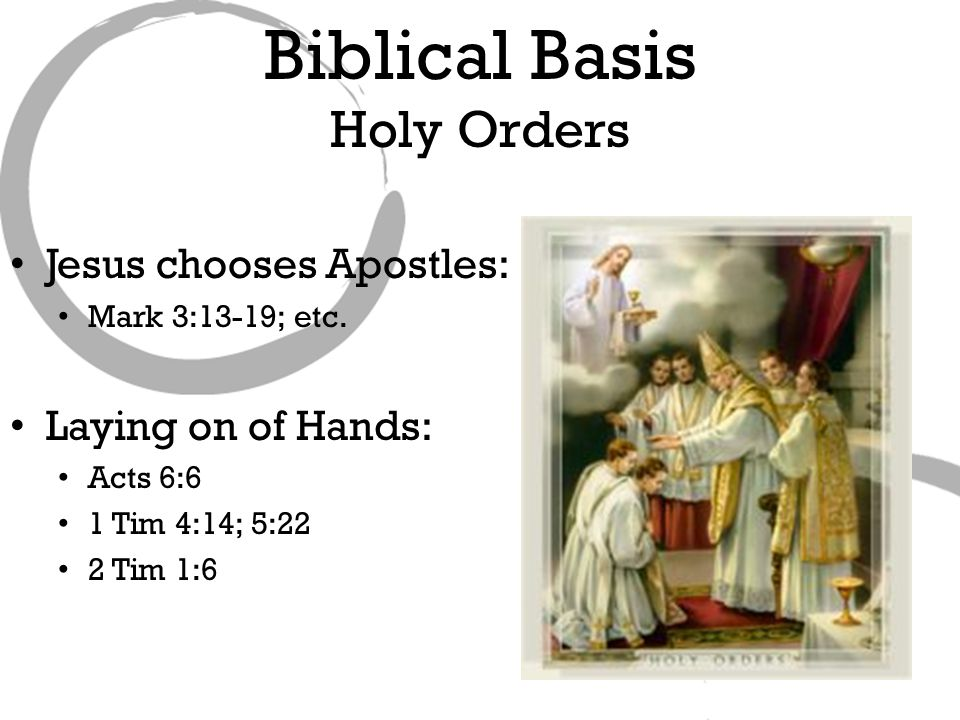 Jesus chooses Apostles: Mark 3:13-19; etc.