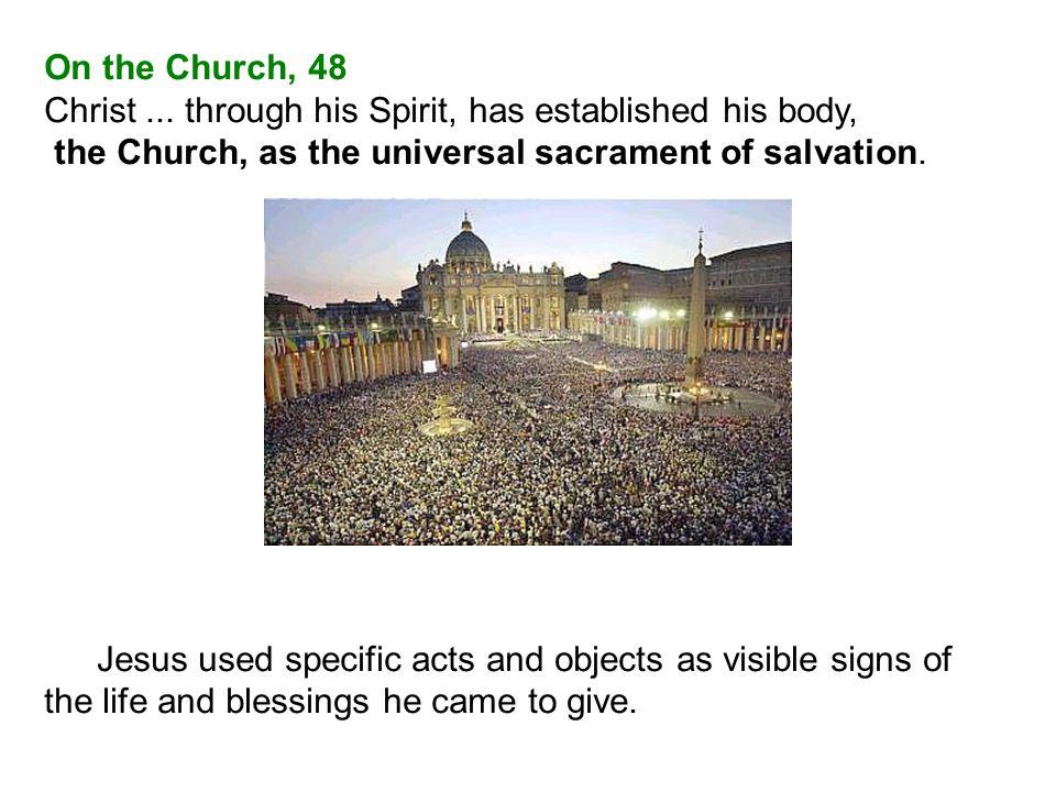 On the Church, 48 Christ...