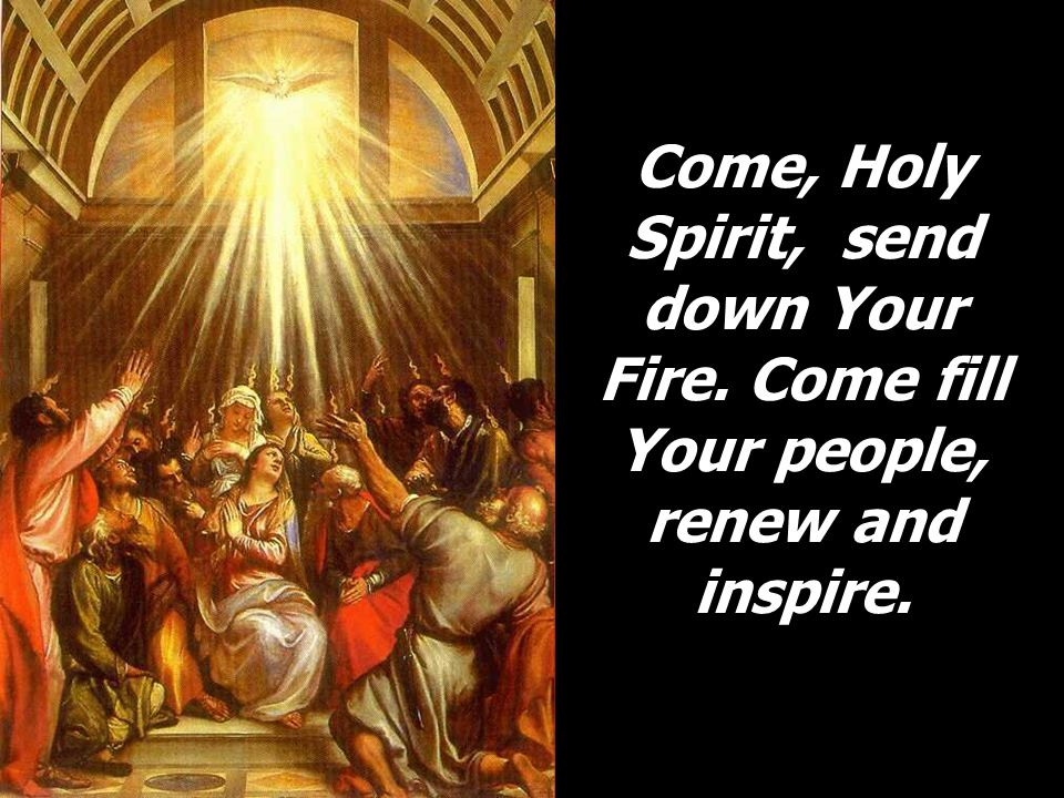 We are Your children who long to see Your face, confirmed in one baptism, one hope, one Lord, one faith.