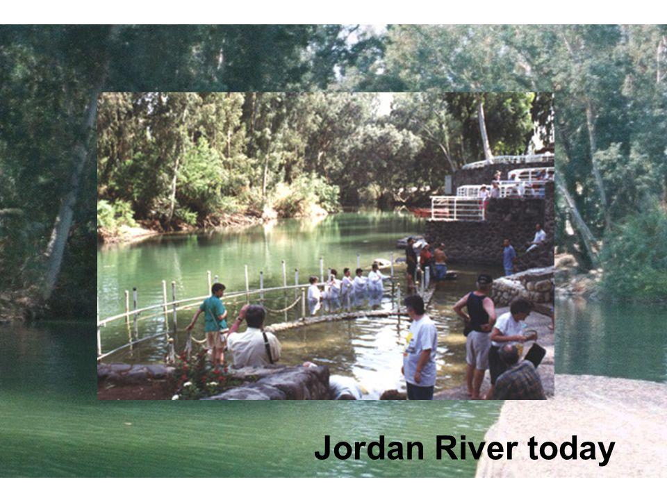 Jordan River today