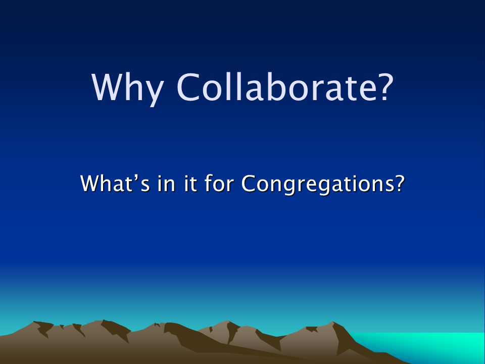 Question: What are the five most stated items in any strategic plan of a local congregation.