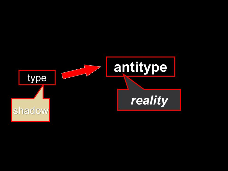 type antitype shadow reality