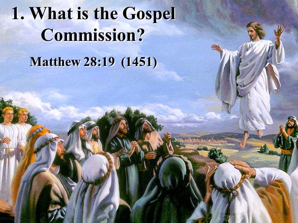 Go... and teach all nations, baptizing them.
