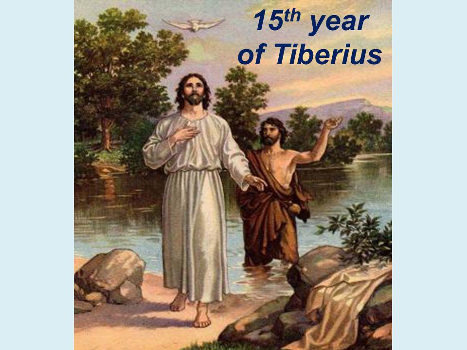 15 th year of Tiberius