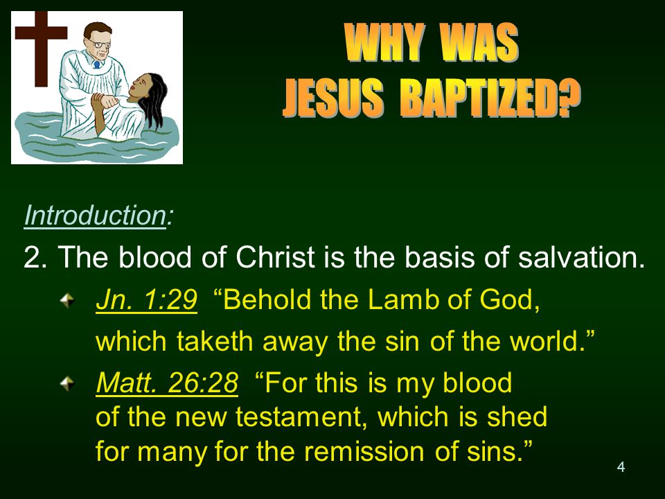35 III.Why Did Paul Say We Must Leave the doctrine of baptisms? B.