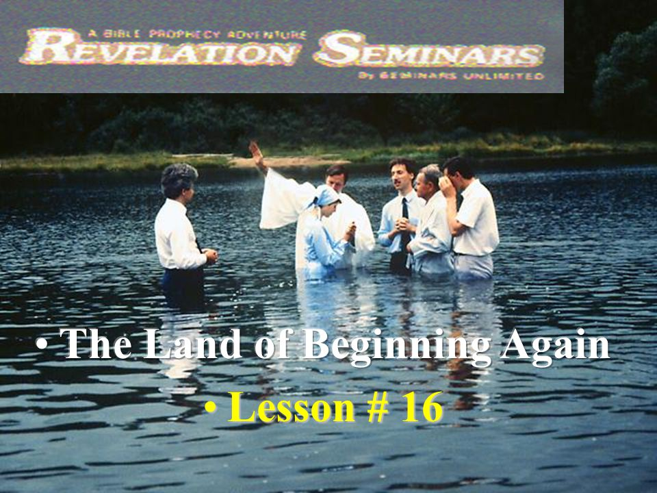 42 19.How do we honor the death,burial and resurrection of Jesus? Rom.6:4-6 By being baptized.