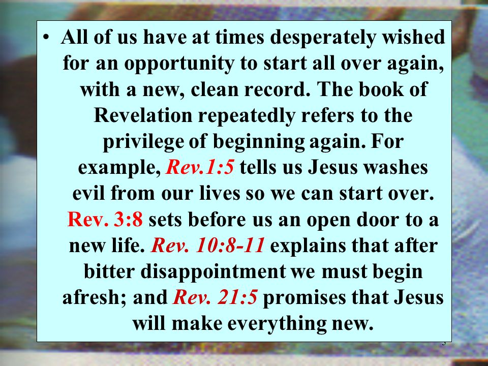 26.Is it important for you to be baptized the way Jesus was.