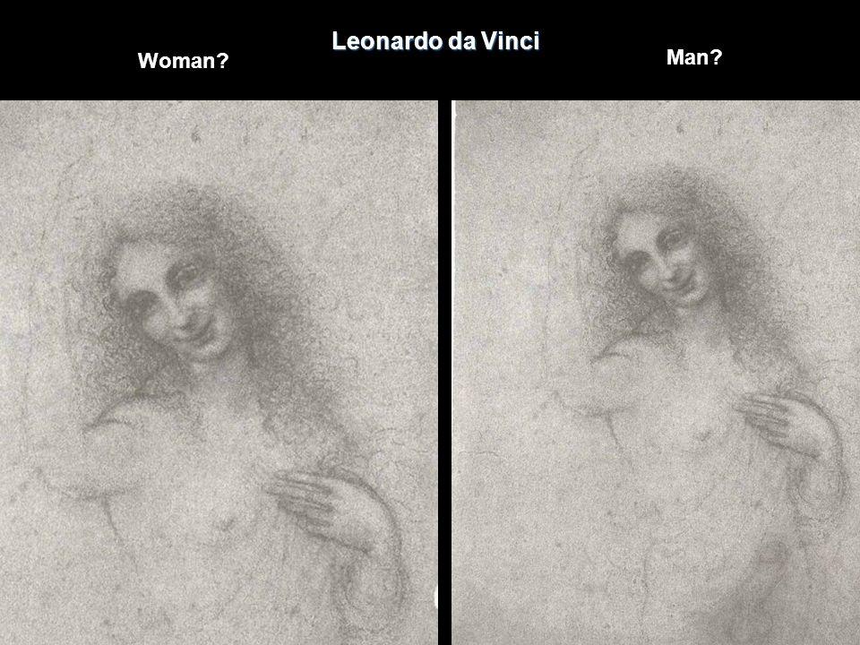 Leonardo da Vinci Woman? Man?