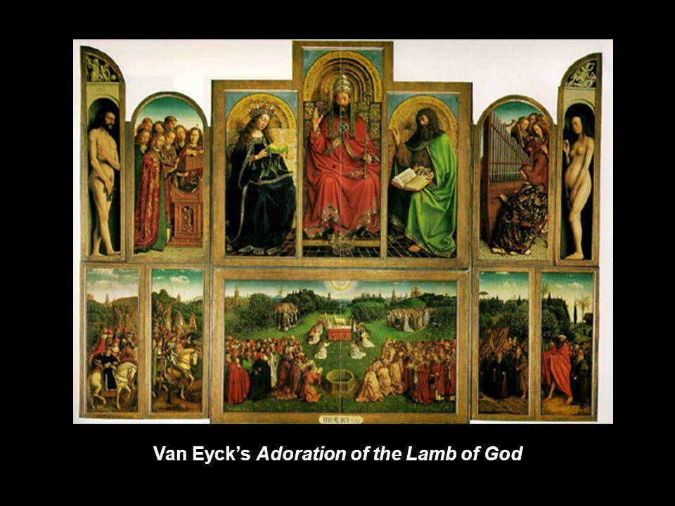 Van Eyck's Adoration of the Lamb of God