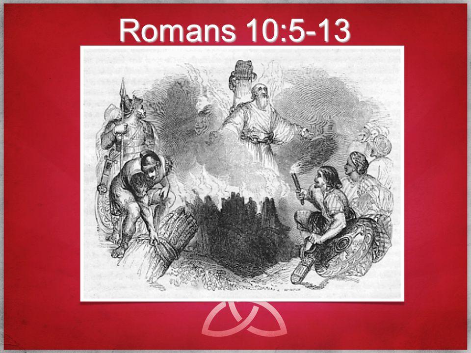 Romans 10:5-13
