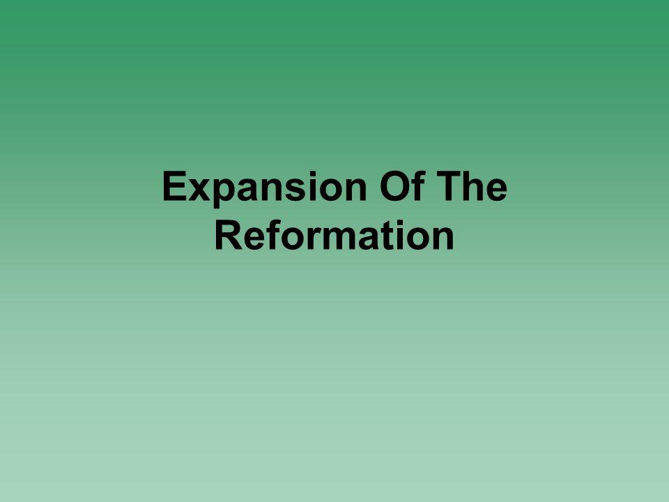 The French Reformation – John Calvin Basic Beliefs 1.