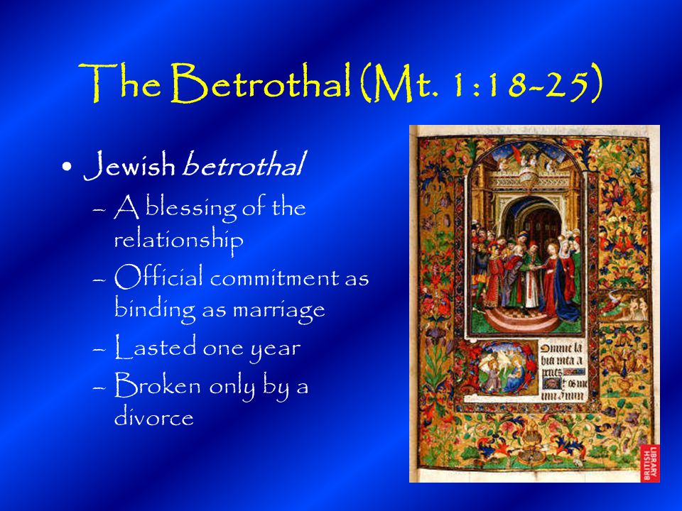 The Betrothal (Mt.
